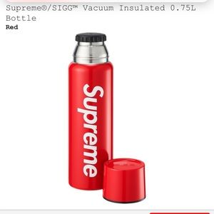 New Supreme x Sigg Insulated Bottle